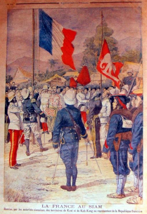 สยามย��มสั่นคล��น��ำนาจ��ธิปไตยให้กับการแทรกแซงข��งฝรั่งเศสในสมัย ร.๕